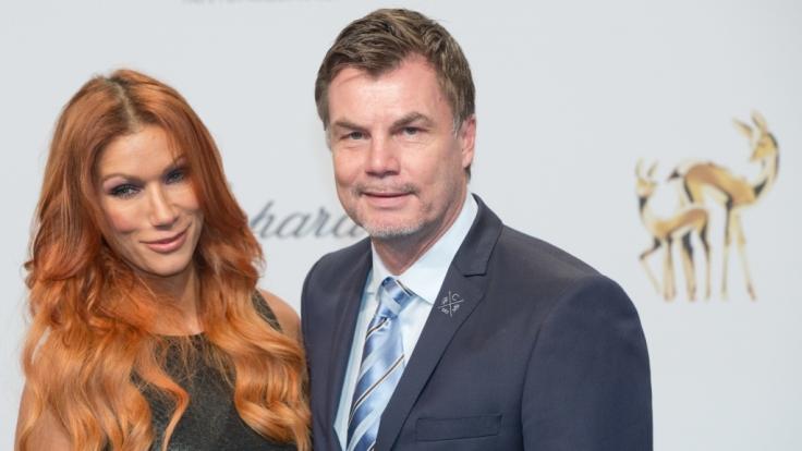 Schauspielerin Yasmina Filali ist mit Ex-Fußball-Profi Thomas Helmer verheiratet. gemeinsam haben sie zwei Kinder. (Foto)