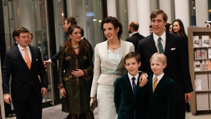 Nach der Scheidung von Prinz Louis schwebt Tessy von Luxemburg wieder auf Wolke 7. (Foto)