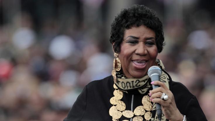 """Aretha Franklin, die """"Queen of Soul"""", ist mit 76 Jahren gestorben. (Foto)"""