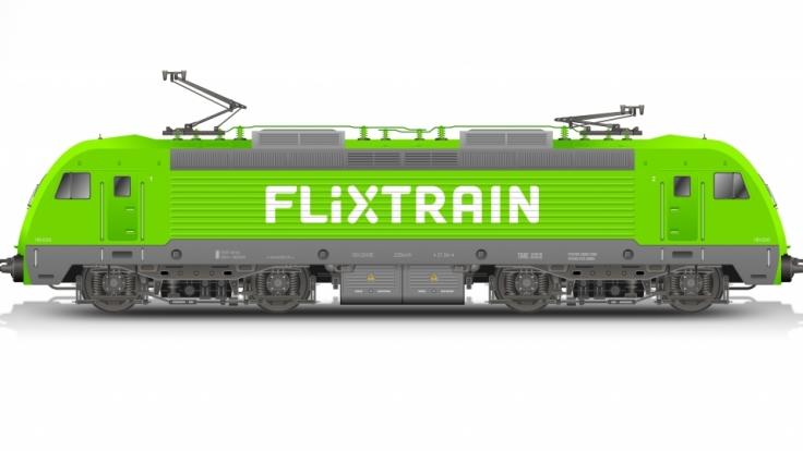 Die Züge von Flixtrain sollen im grünen Design von Flixbus fahren. (Foto)