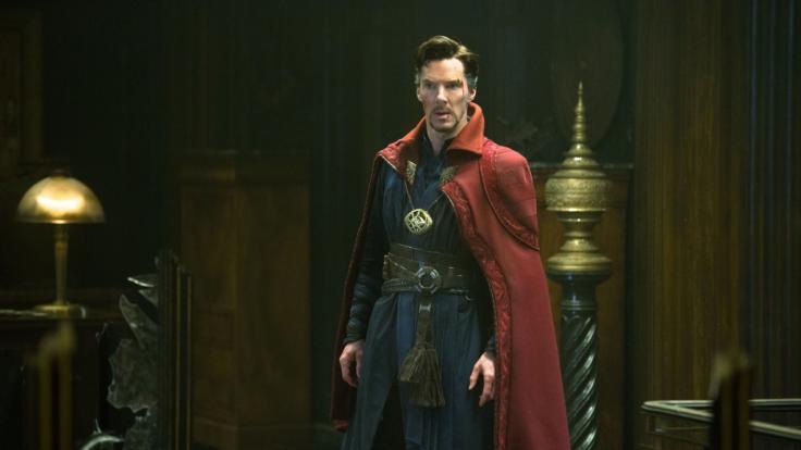Benedict Cumberbatch als Doctor Stephen Strange.