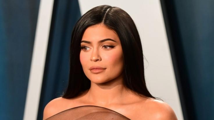 Kylie Jenner gibt sich wieder zeigefreudig im Netz. (Foto)