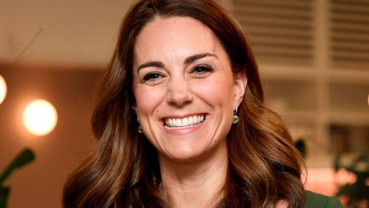 Freut sich Herzogin Kate schon auf ein viertes Kind? (Foto)