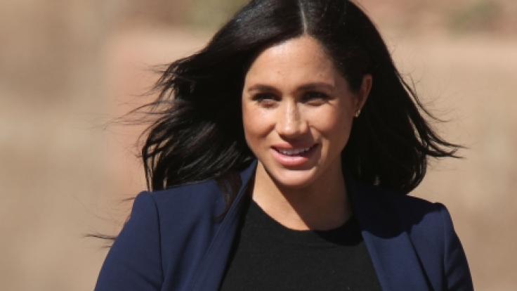 Herzogin Meghan erwartet im April ihr erstes Kind. (Foto)
