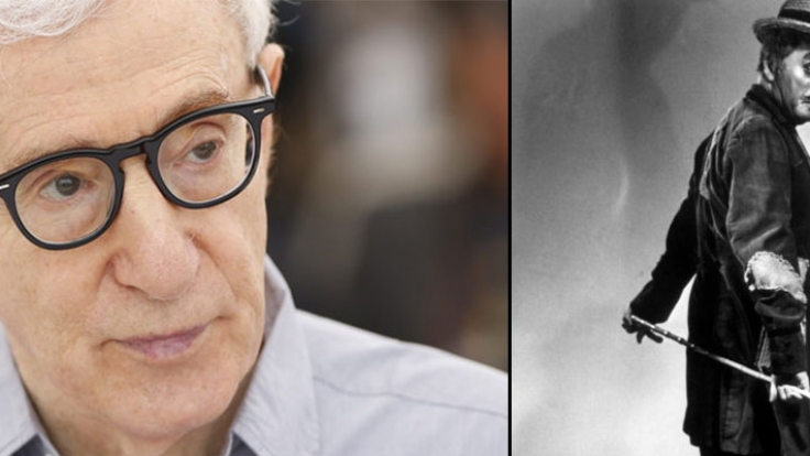 Schon Charlie Chaplin (li.) hatte in den 1920er Jahren Sex mit einer Minderjährigen. Woody Allen missbrauchte wohl seine eigene Stieftochter. (Foto)