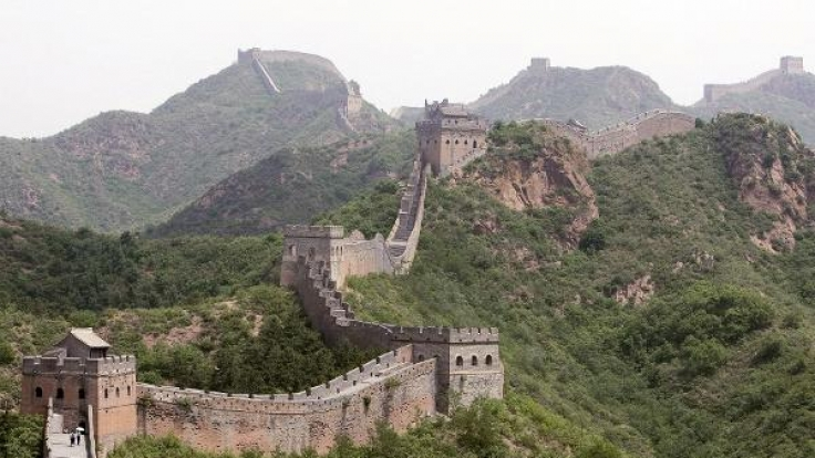 Die Chinesische Mauer verschwindet mehr und mehr.