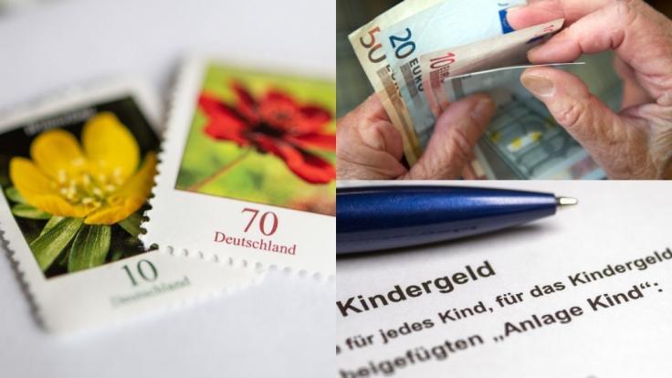 Im Juli 2019 gibt es einige Änderungen in Sachen Briefporto, Rente und Kindergeld. (Foto)