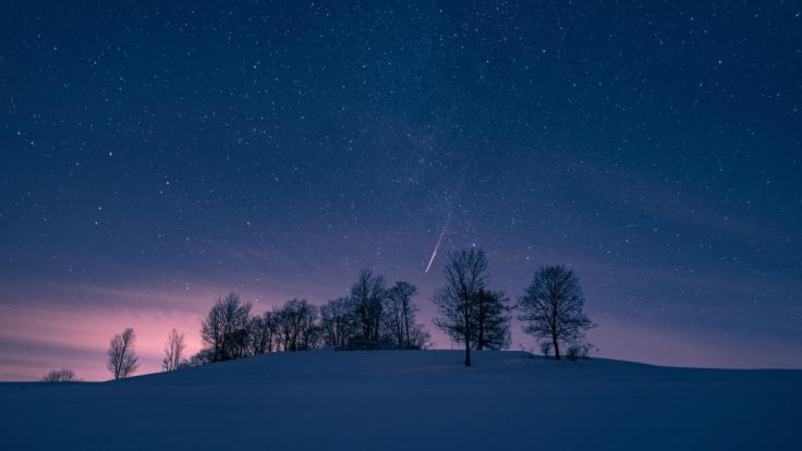 Experten erwarten an den kommenden Tagen einen wahren Sternschnuppen-Regen. (Foto)