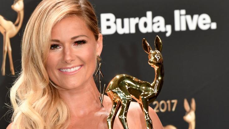 Helene Fischer schockte bereits bei der Bambi-Verleihung 2017 mit ihrem Blut-Auge.
