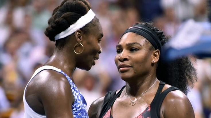 Australian-Open-Finale zwischen Serena und Venus Williams.
