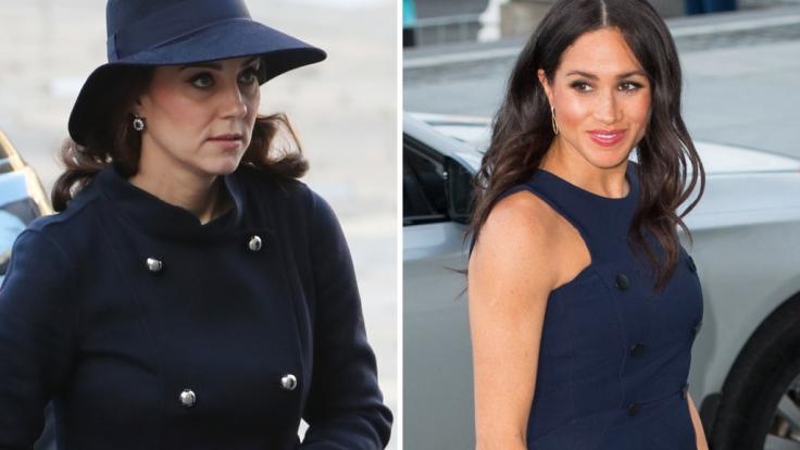 Kate Middleton und Meghan Markle dominierten in den vergangenen Tagen die Royals-News. (Foto)