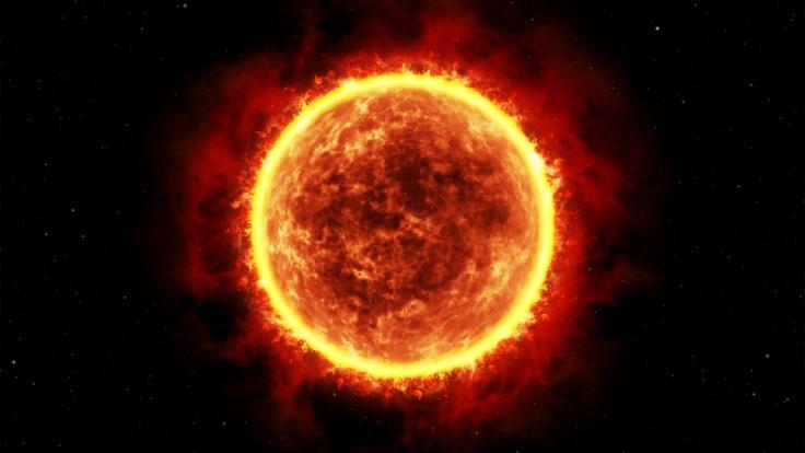 Wenn die Sonne stirbt, reißt die Erde mit in den Tod. (Foto)