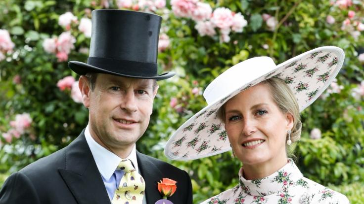 Prinz Edward und die gemeinsamen Kinder mit Frau Gräfin Sophie von Wessex stehen weiter hinten in der royalen Nachfolge-Regelung. (Foto)