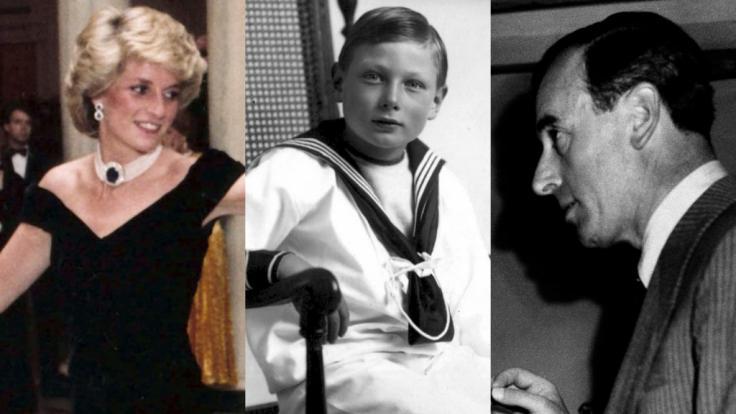 Prinzessin Diana, Prinz John und Louis Mountbatten verloren ihr Leben unter tragischen Umständen. (Foto)