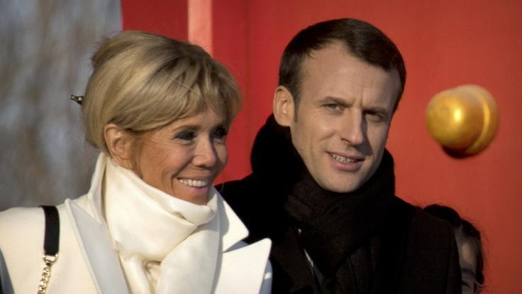 Emmanuel Macron und Brigitte Macron sind seit fast 14 Jahren verheiratet. (Foto)