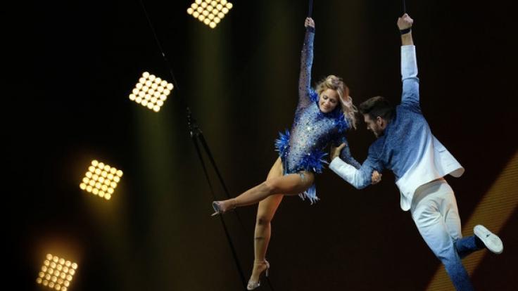 Helene Fischer hatte sich von den Shows vom Cirque du Soleil in Las Vegas für ihre neue Tournee inspirieren lassen. (Foto)