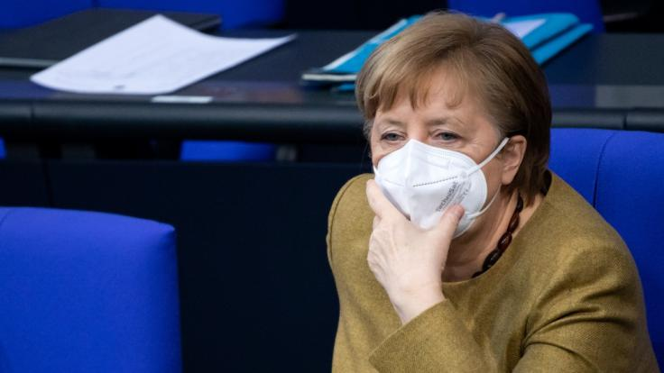 Angela Merkel hält wegen der Corona-Mutationen an ihren harten Lockdown-Plänen fest. (Foto)
