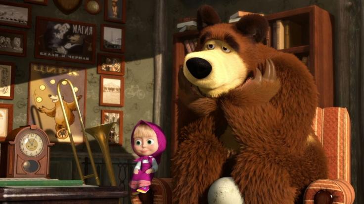 Mascha und der Bär bei KiKA (Foto)