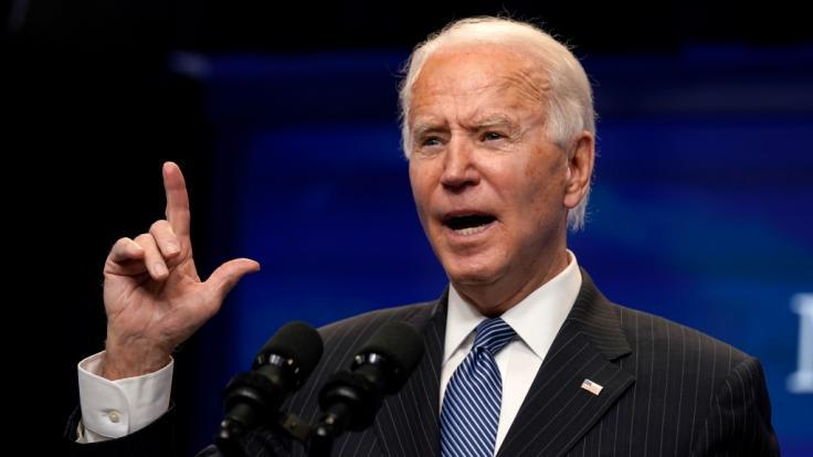 Joe Biden will Atombomber Richtung Russland entsenden. (Foto)