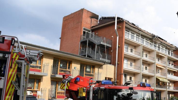 Bei dem Brand in einem Pflege- und Altenheim in Bremen-Huchting wurden mindestens 17 Menschen verletzt.