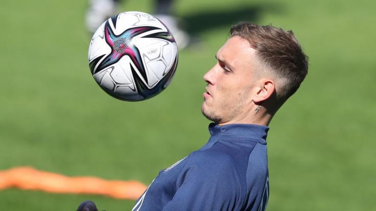 Nationalspieler David Raum in Aktion. (Foto)