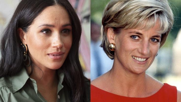 Weder Meghan Markle noch Lady Di wurden im Königshaus glücklich - doch Prinz Harrys Frau hatte ihrer Schwiegermutter gegenüber einen entscheidenden Vorteil. (Foto)