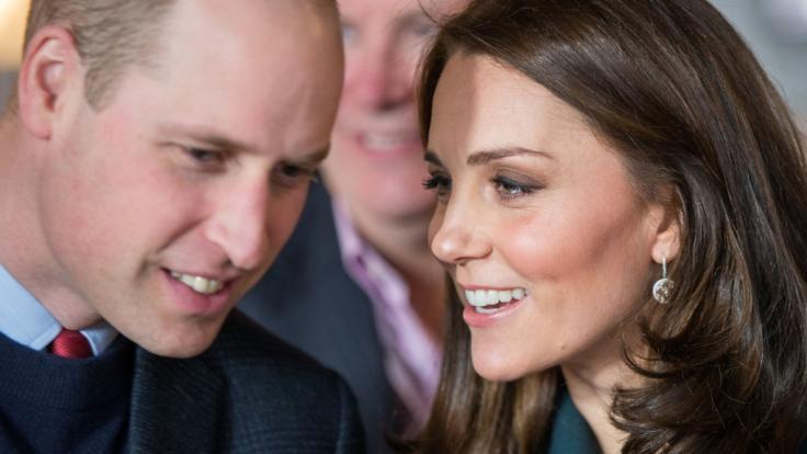 Prinz William und Herzogin Kate agieren vorerst getrennt. (Foto)