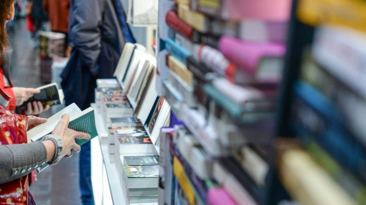 Die Regale der Leipziger Buchmesse bleiben in diesem Jahr leer.