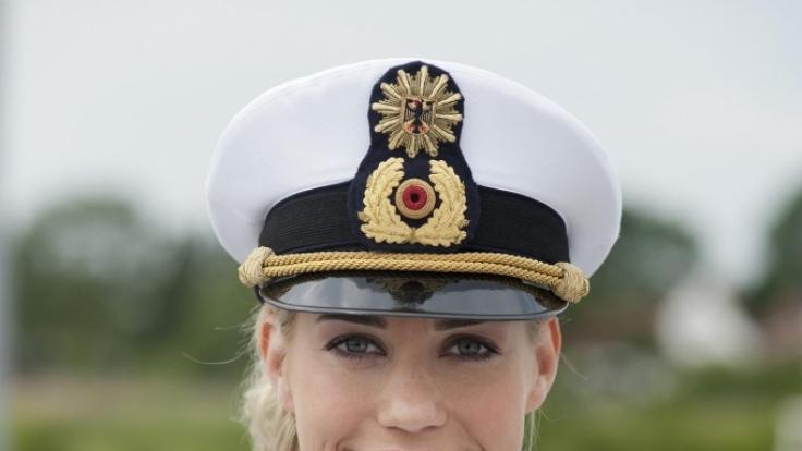 Lara-Isabelle Rentinck ist die neue Bootsfrau bei der Küstenwache. (Foto)