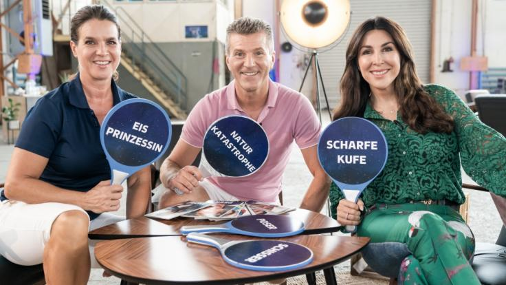 "Witt (links), Weiss, Williams: Sie sind die Juroren bei ""Dancing on Ice"". (Foto)"