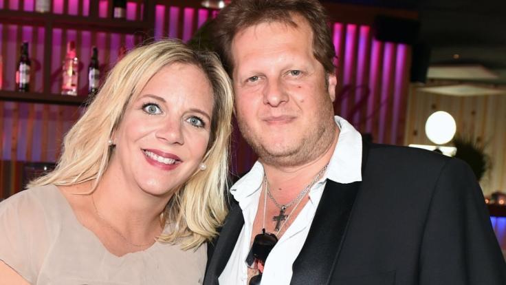 Ein Bild aus glücklichen Tagen: Daniela Büchner mit Ehemann Jens Büchner.