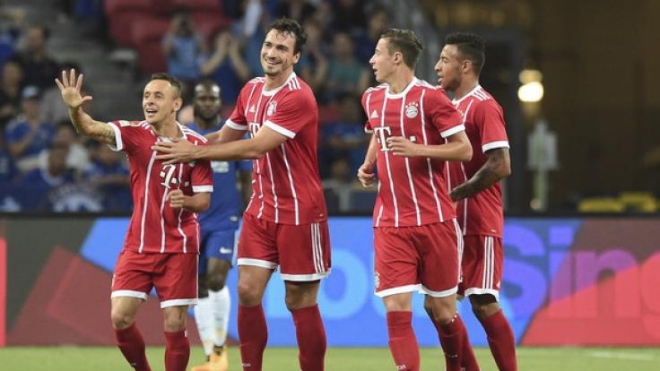 Nach dem Sieg gegen Chelsea müssen die Bayern gegen Inter Mailand ran.