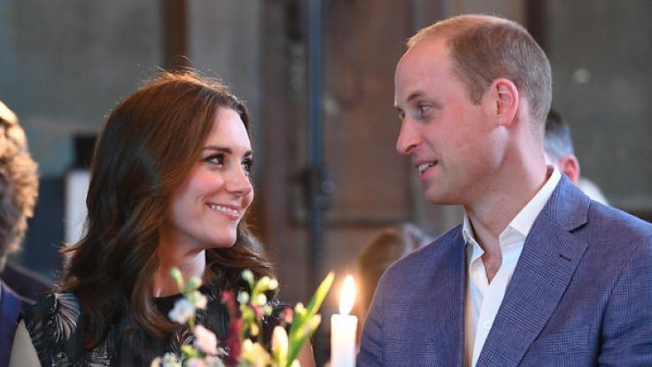 Prinz William und Herzogin Kate in Berlin bei einem Empfang in Clärchens Ballhaus.