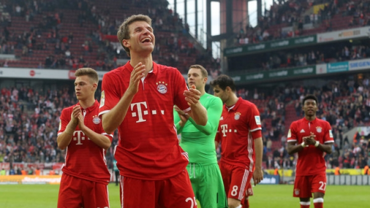 Der FC Bayern München trifft am 24. Spieltag auf Eintracht Frankfurt.