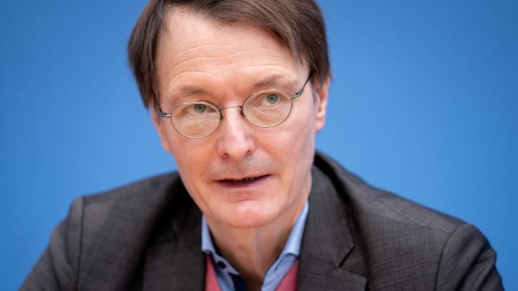 Karl Lauterbach sprach sich für eine Verlängerung des Lockdowns aus. (Foto)