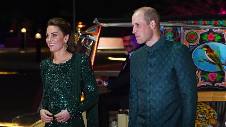 Herzogin Kate und Prinz William begeistern bei ihrer Reise nach Pakistan. (Foto)