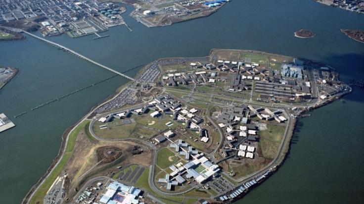 Amerikas härtester Knast:Die Gefängnisinsel Rikers Island. (Foto)