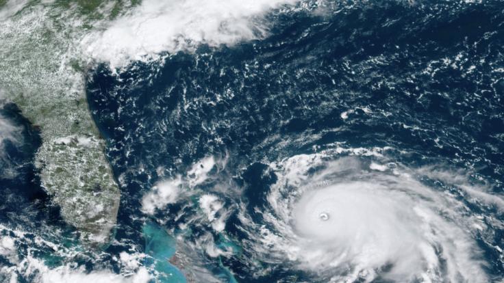 Hurrikan Dorian hält auf die USA zu (Foto)