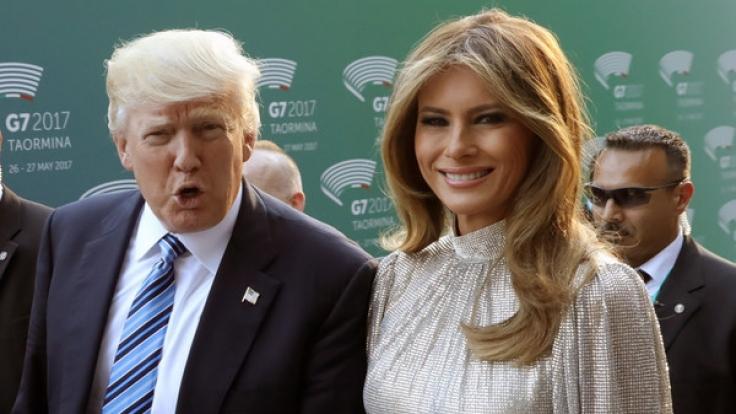 Hat Melania Trump bei einer möglichen Scheidung gut lachen? (Foto)