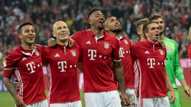 Der FC Bayern München trifft im Viertelfinale der Champions League 2017 auf Real Madrid. (Foto)