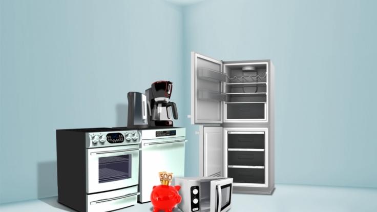 Mikrowelle, Kühlschrank, Kaffeemaschine - bei hohen Strompreisen wird die Küche zum Geldverbrenner. (Foto)