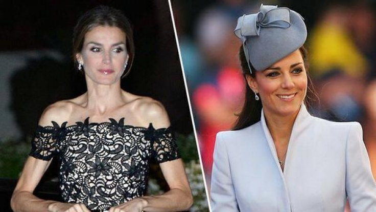 Letizia macht es vor, Kate nach: Immer dünner und dünner.