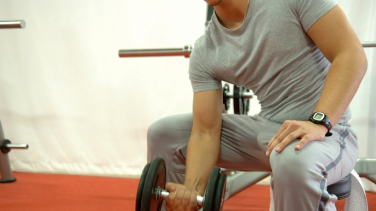 Überlastungen durch Leistungssport erhöhen das Streßhormon Cortisol und senken den Testosteronspiegel. Das kann die Spermienzahl halbieren. (Foto)