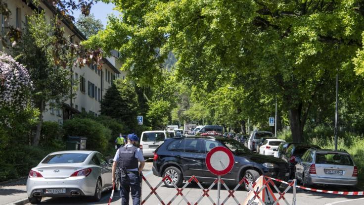 Eine Geiselnahme in Zürich endete tödlich.