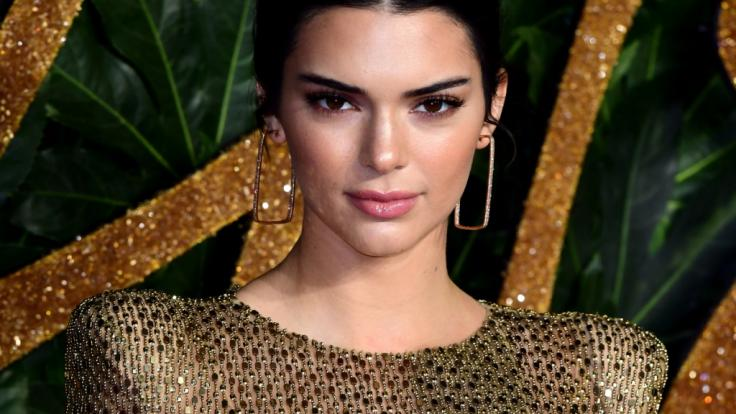 Kendall Jenner bei den British Fashion Awards 2018. (Foto)