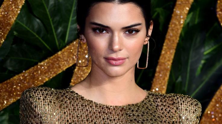 Kendall Jenner bei den British Fashion Awards 2018.