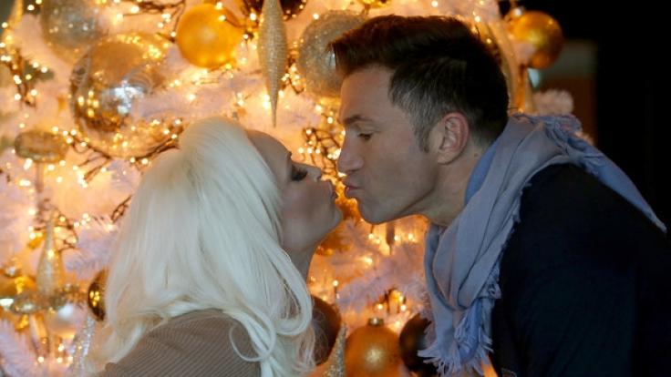 Daniela Katzenberger und Lucas Cordalis im Weihnachtsfieber
