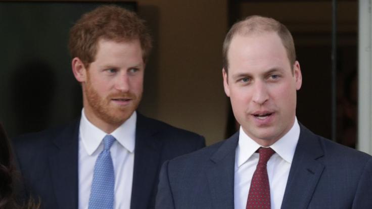 Prinz William ist nicht von Prinz Harrys Verhalten begeistert.