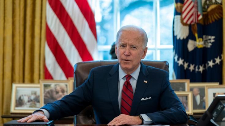 Joe Biden wird jetzt heftig von der katholischen Kirche kritisiert. (Foto)
