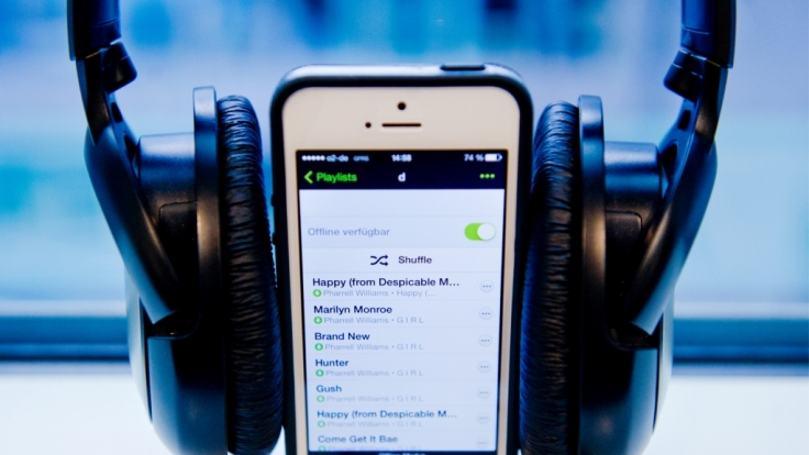Musik-Streaming-Anbieter Spotify konnte die Tester von Stiftung Warentest nicht in allen Punkten überzeugen.